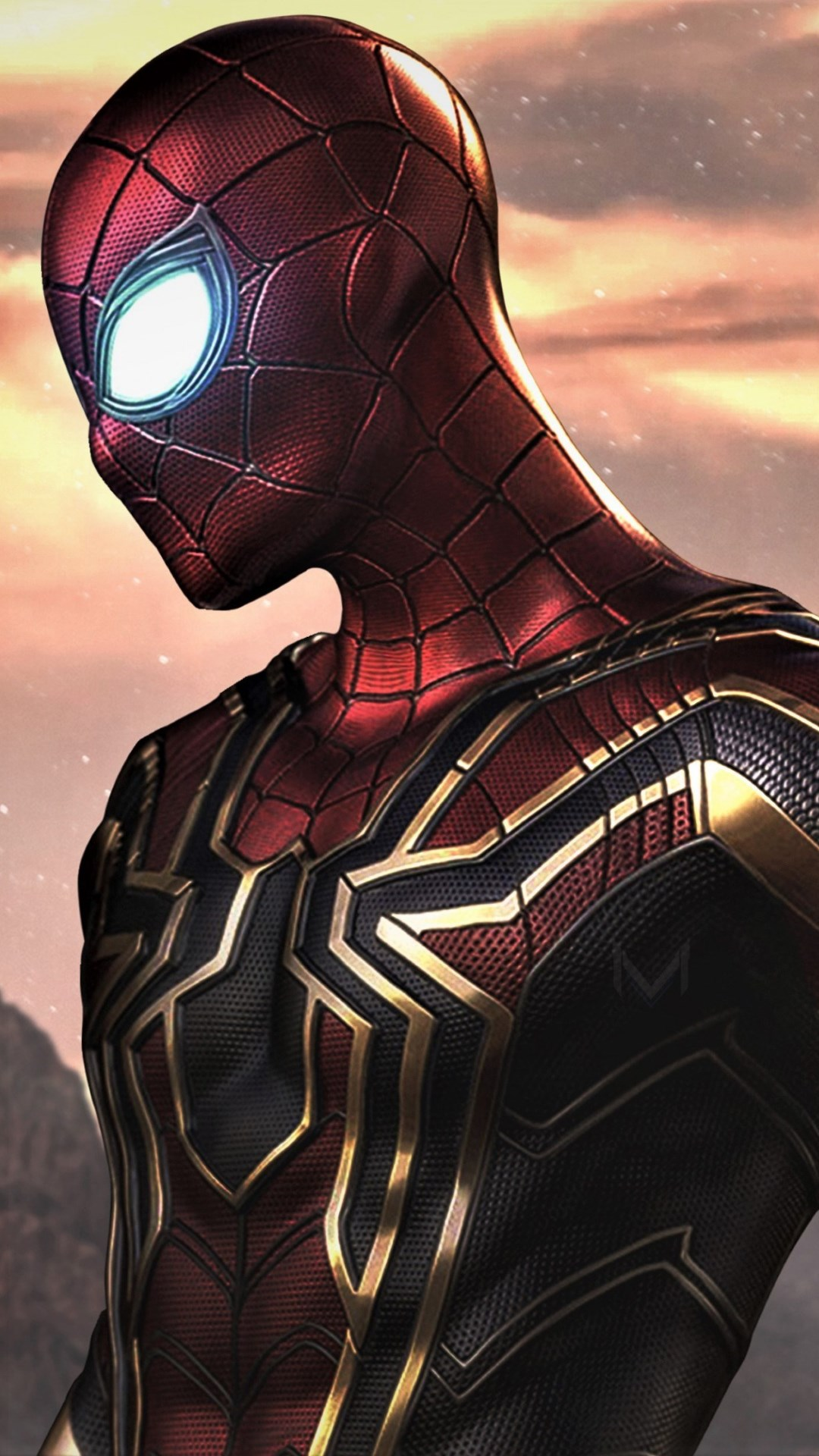 download wallpaper  spider man  far from home 1080x1920