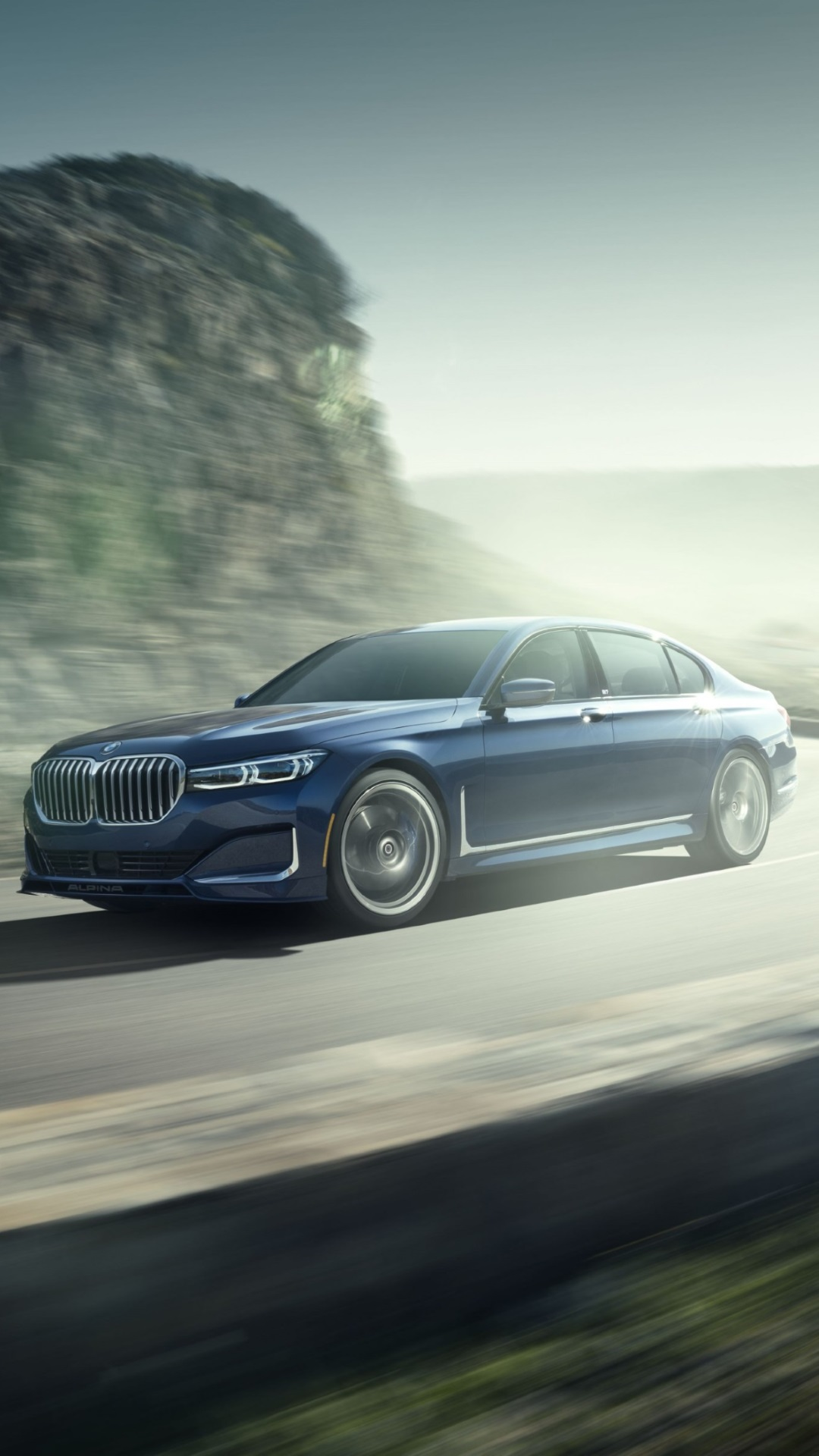 BMW Alpina B7 2019 wallpaper 1080x1920