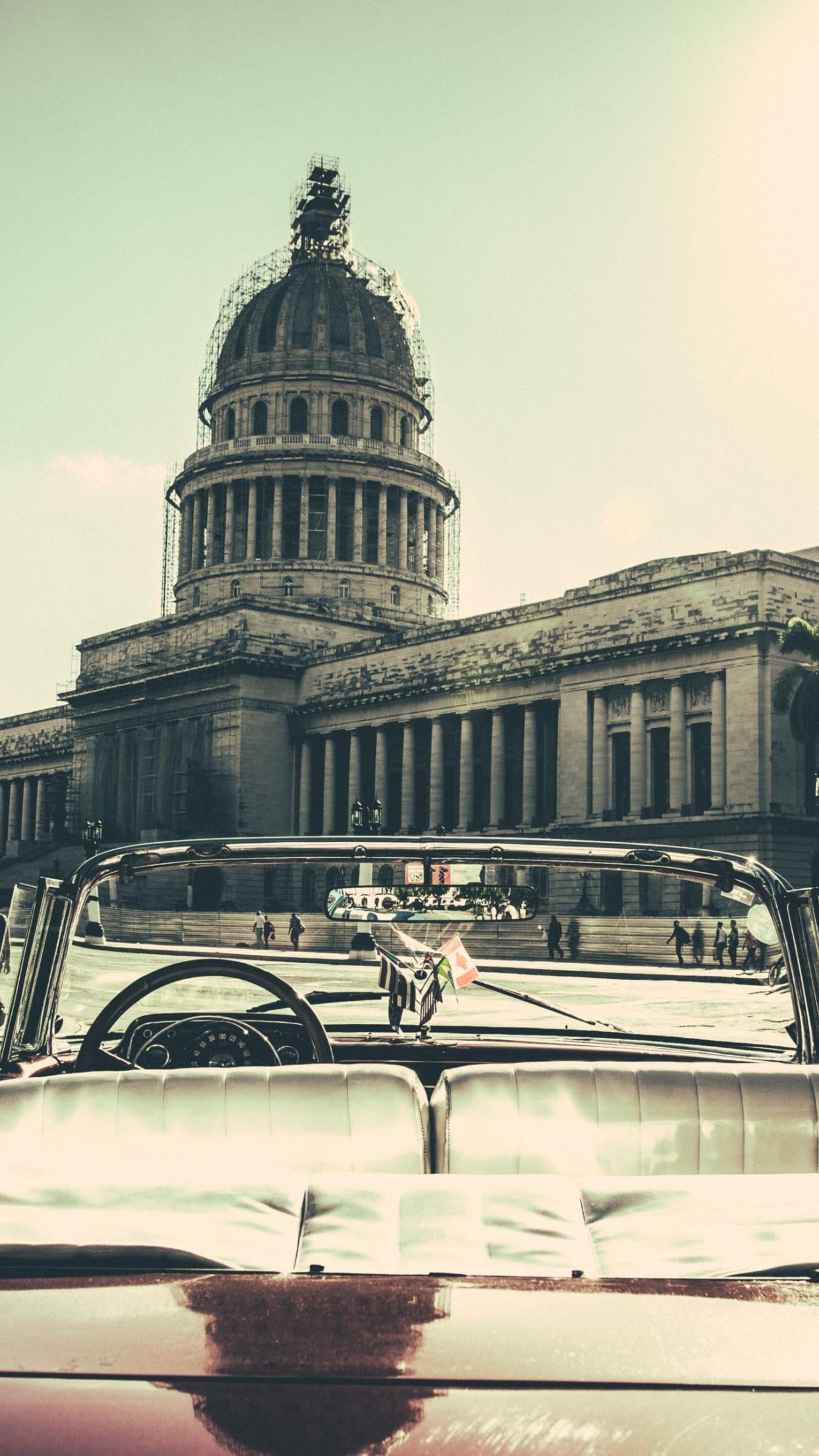 Download Wallpaper Havana City Cuba 1242x2208