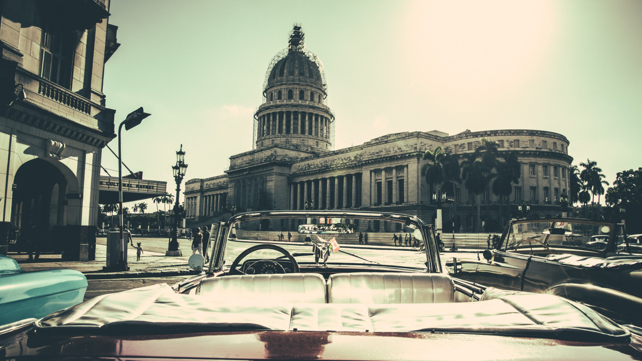 Havana City, Cuba wallpaper 1280x720
