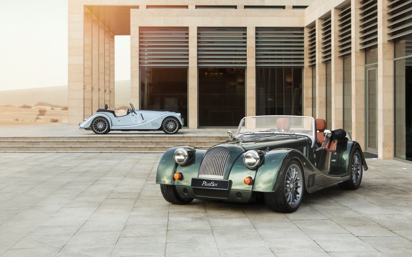 Morgan Plus Six First Edition wallpaper 1440x900