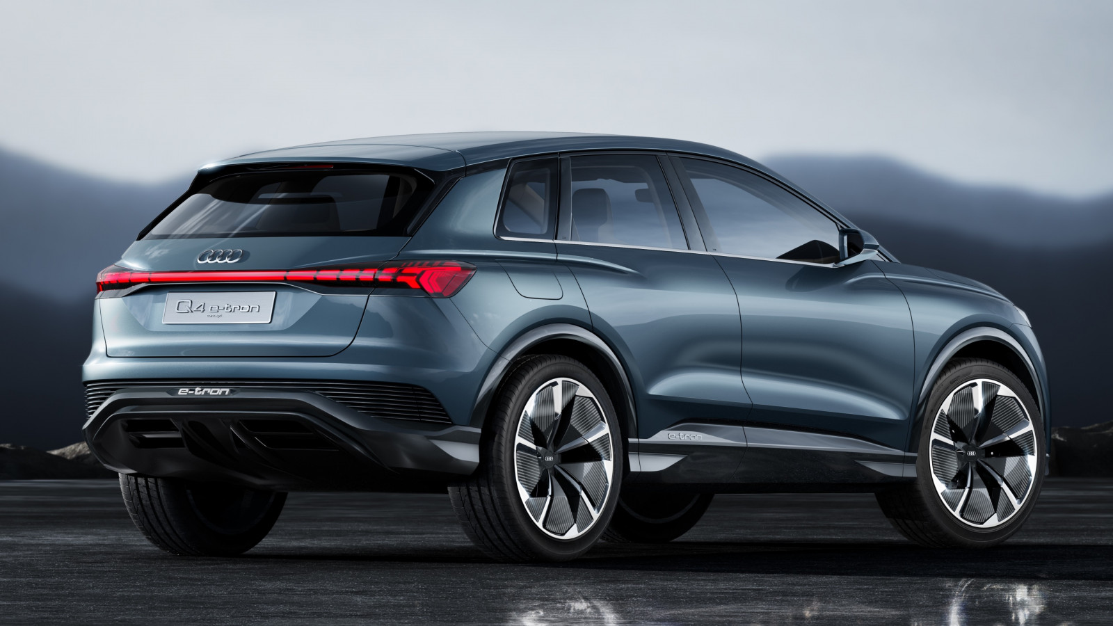 Audi Q4 e tron wallpaper 1600x900