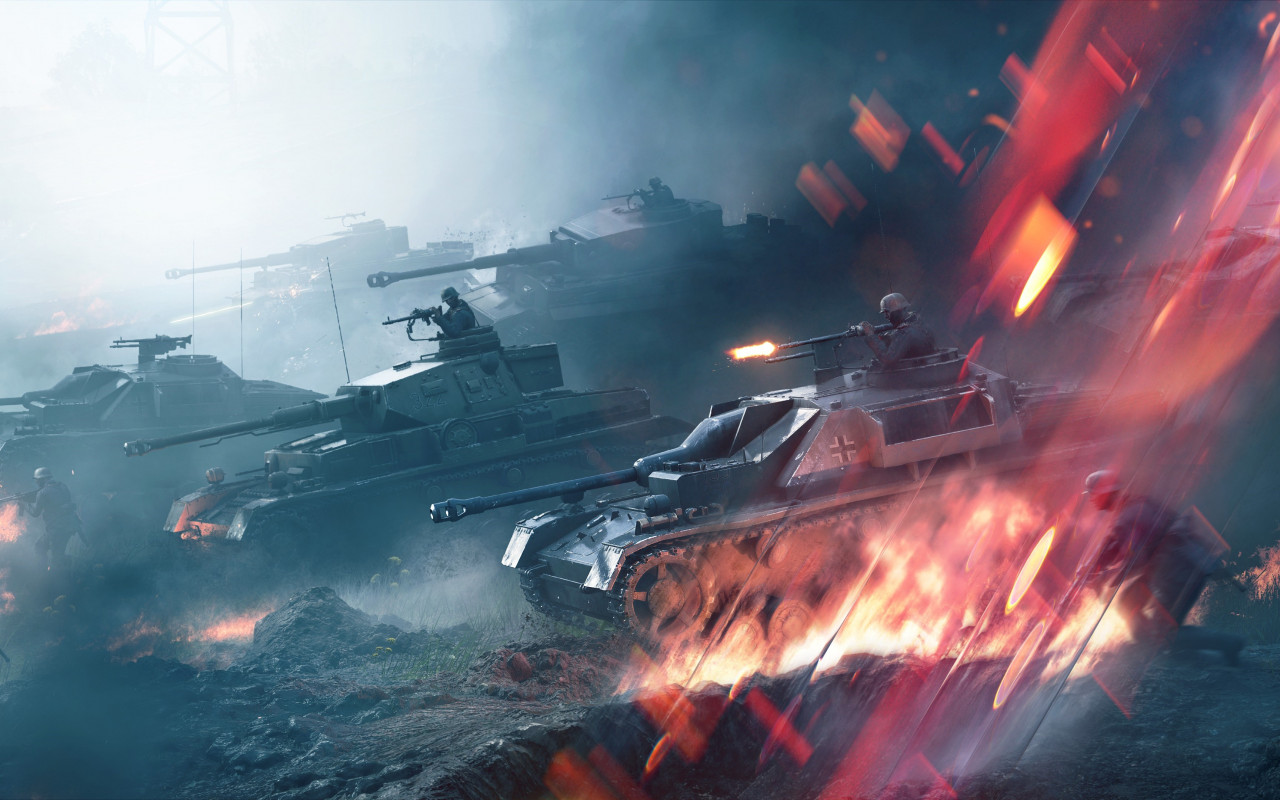 Battlefield V: Lightning Strikes wallpaper 1280x800