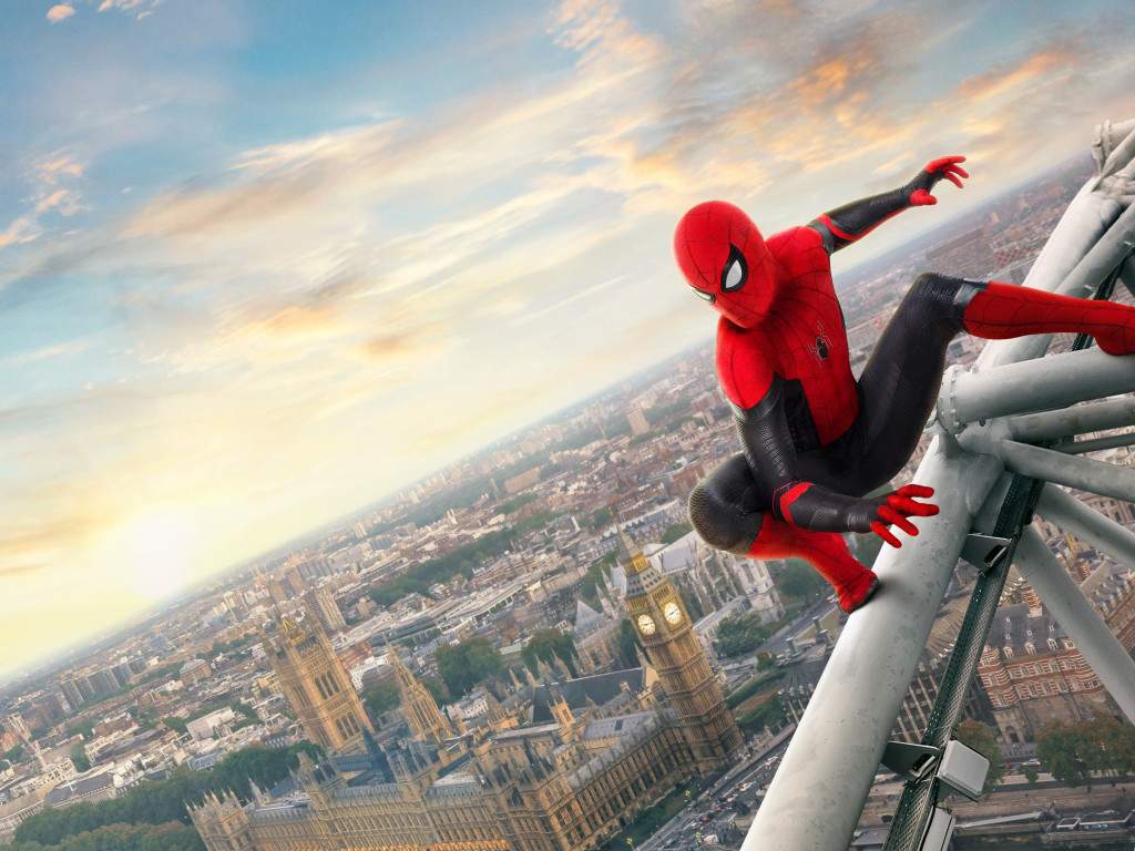 Spider Man: Far From Home 2019 wallpaper 1024x768