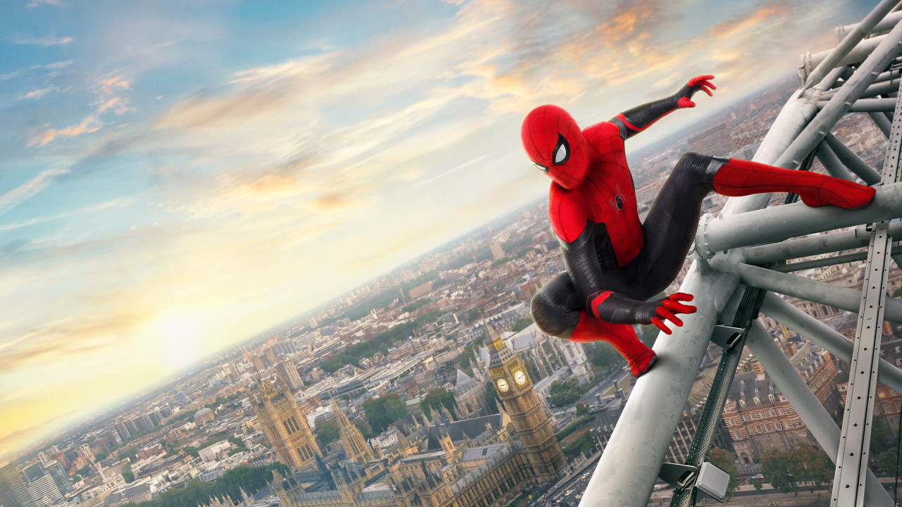 Spider Man: Far From Home 2019 wallpaper 1280x720