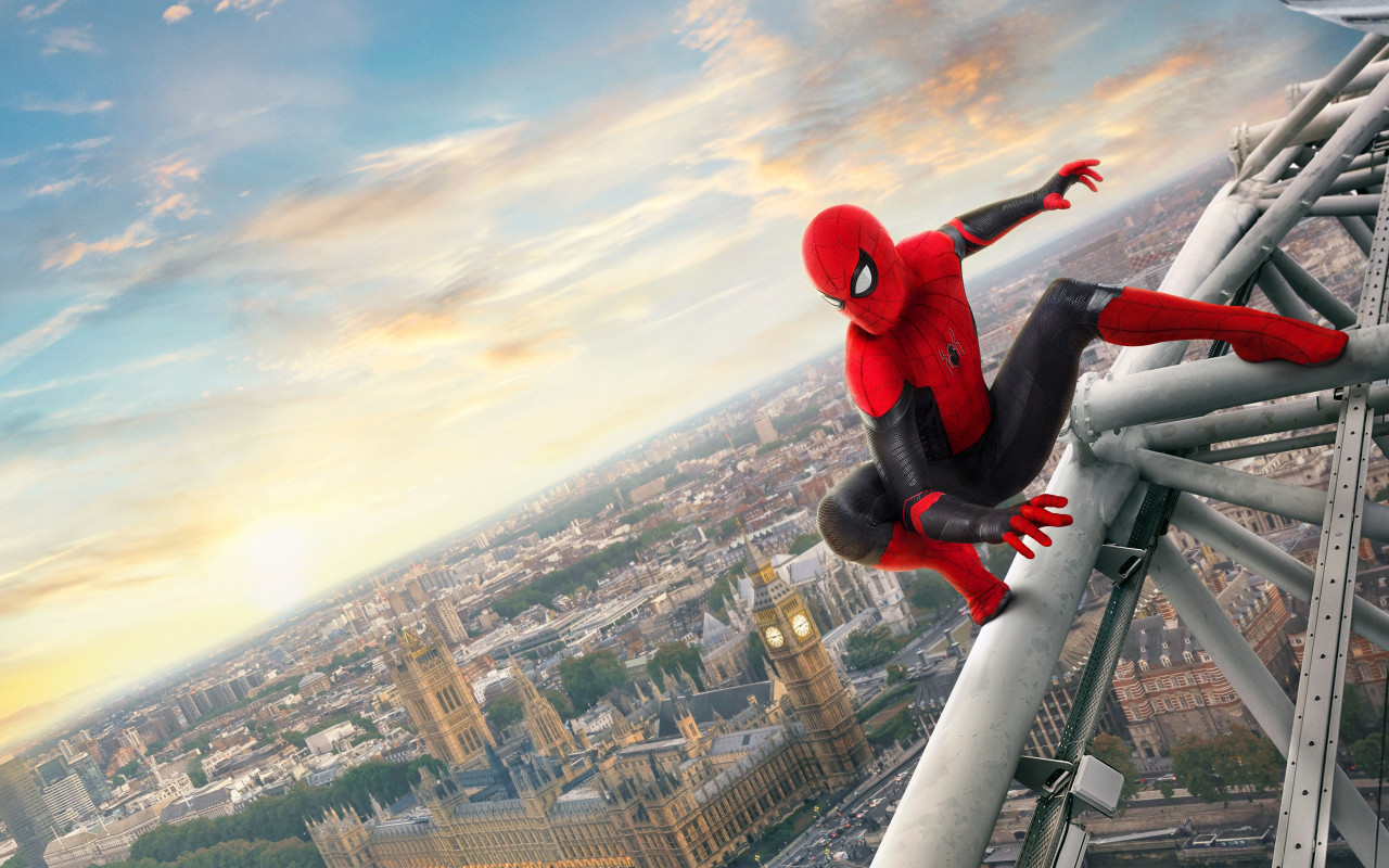 Spider Man: Far From Home 2019 wallpaper 1280x800