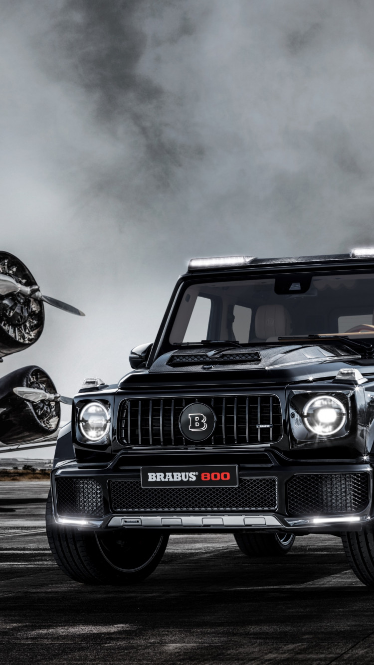 Brabus 800 Widestar wallpaper 750x1334