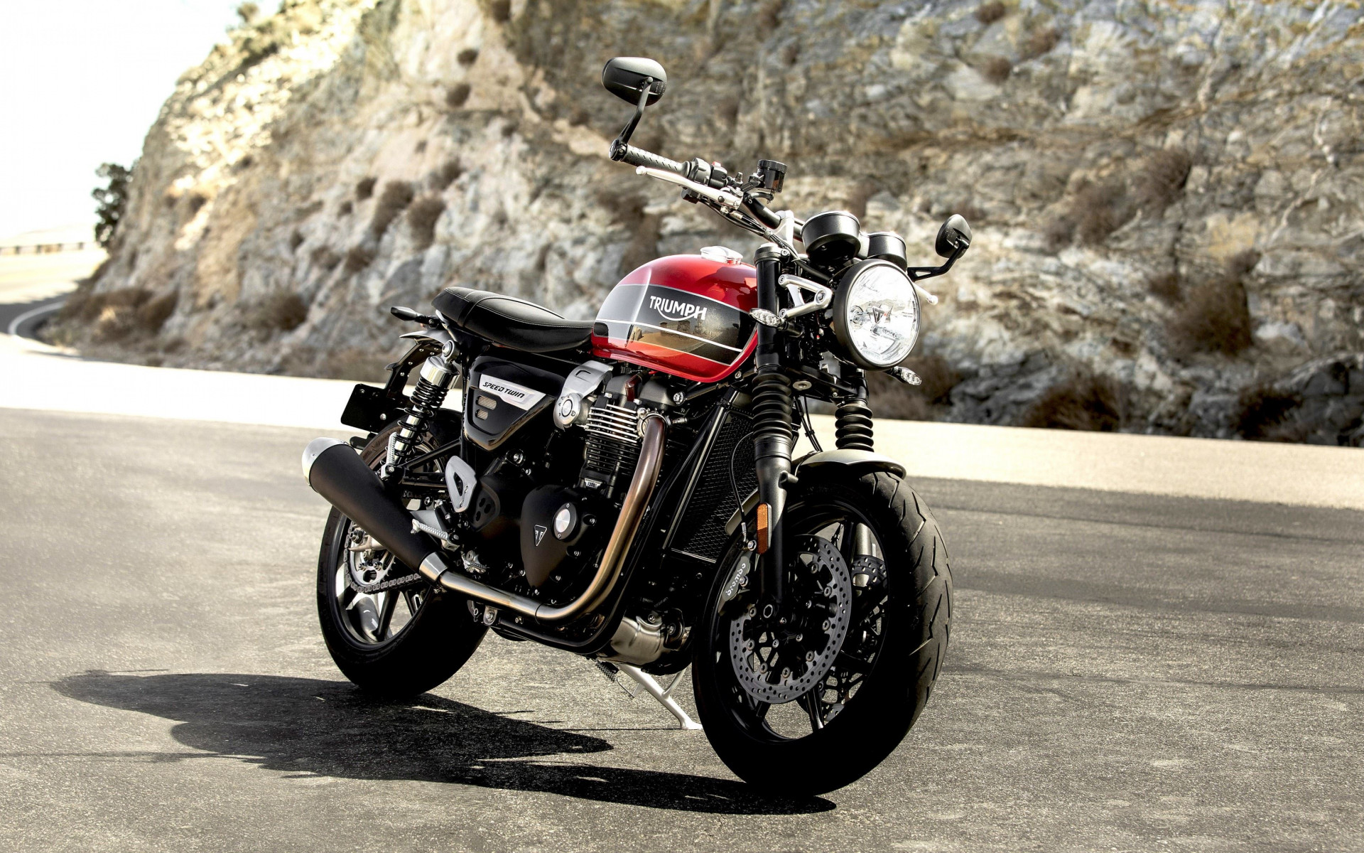 Triumph Speed Twin wallpaper 1920x1200