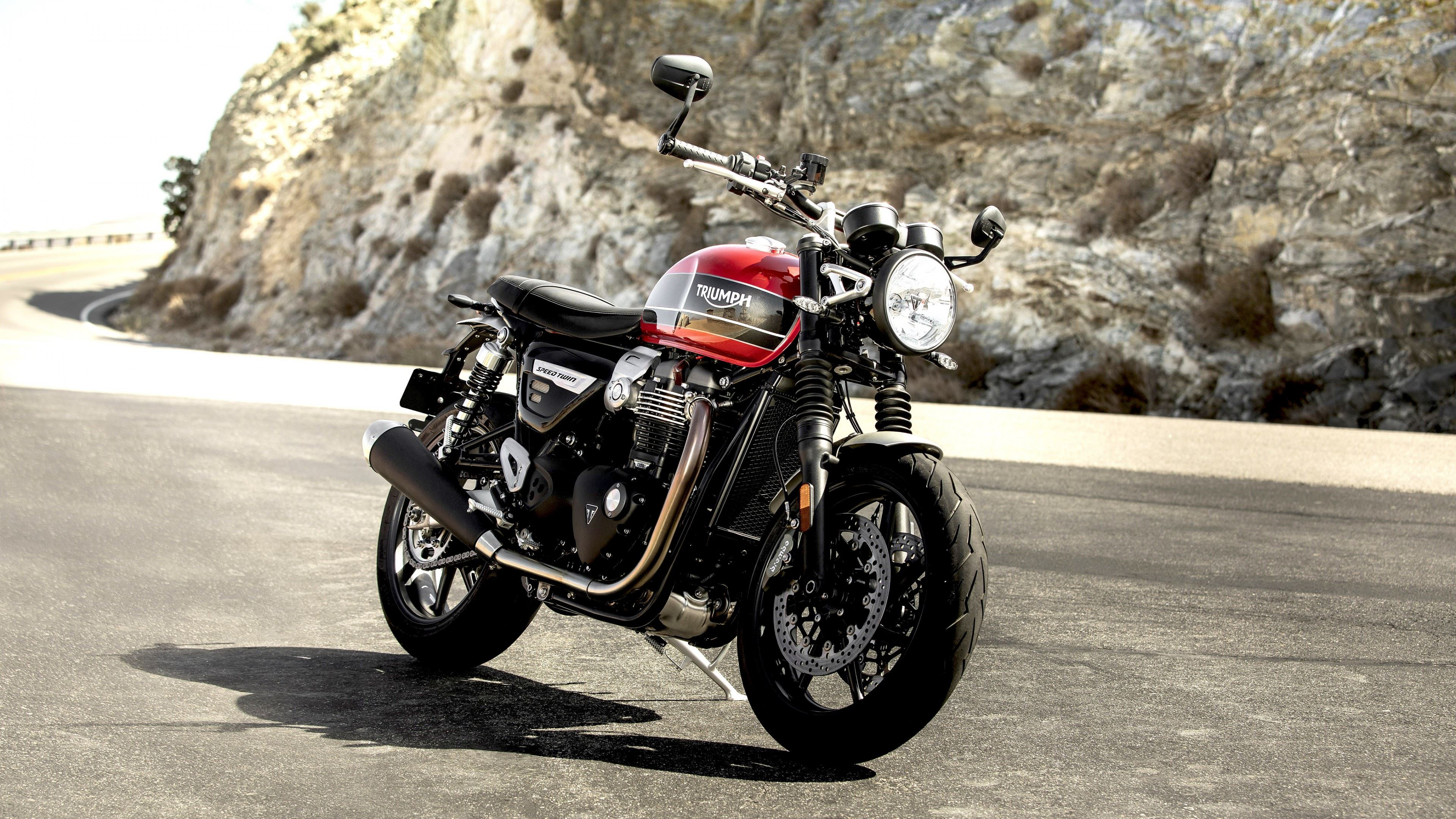Triumph Speed Twin wallpaper 3840x2160