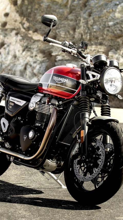 Triumph Speed Twin wallpaper 480x854