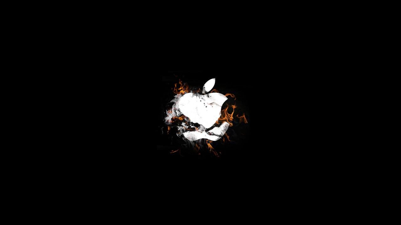 The Apple is on fire | 1280x720 wallpaper