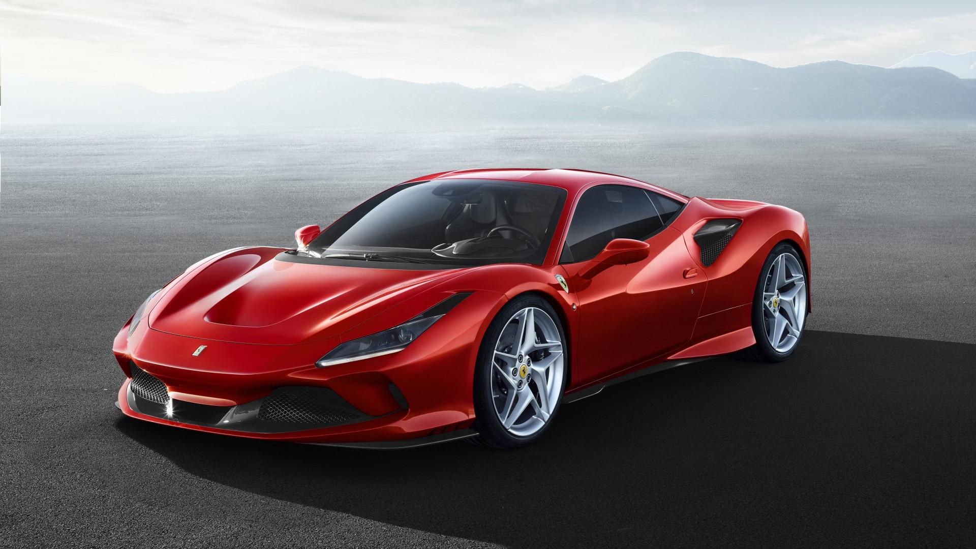 Download wallpaper: Ferrari F8 Tributo 1920x1080