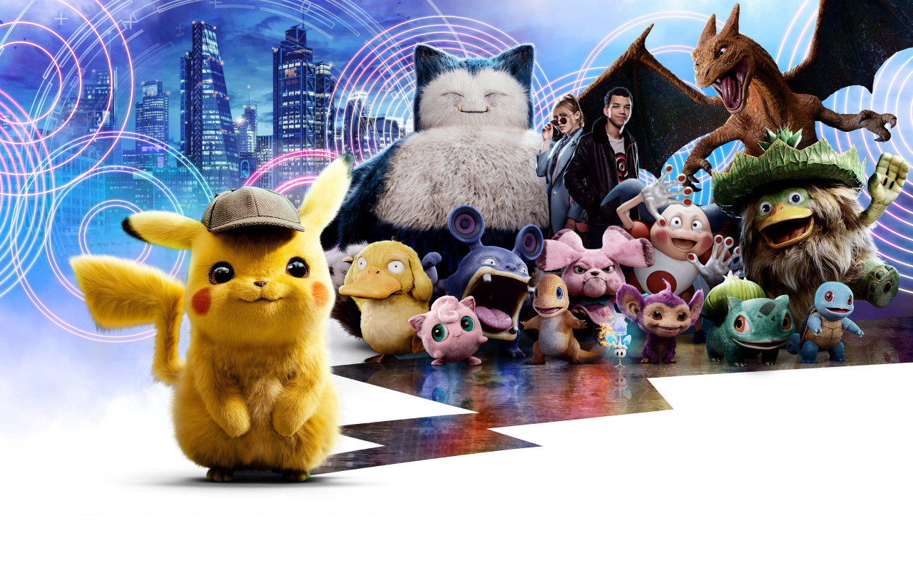 Pokemon Detective Pikachu wallpaper 1280x800