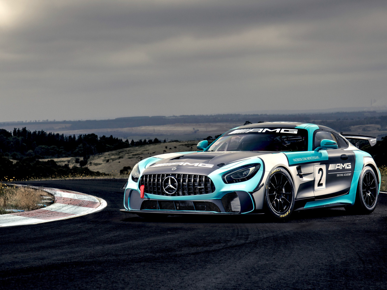 Mercedes AMG GT4 | 1280x960 wallpaper