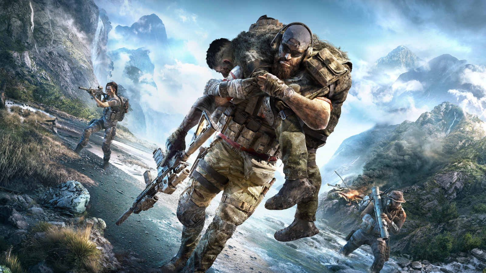 Tom Clancy's Ghost Recon Breakpoint wallpaper 1600x900