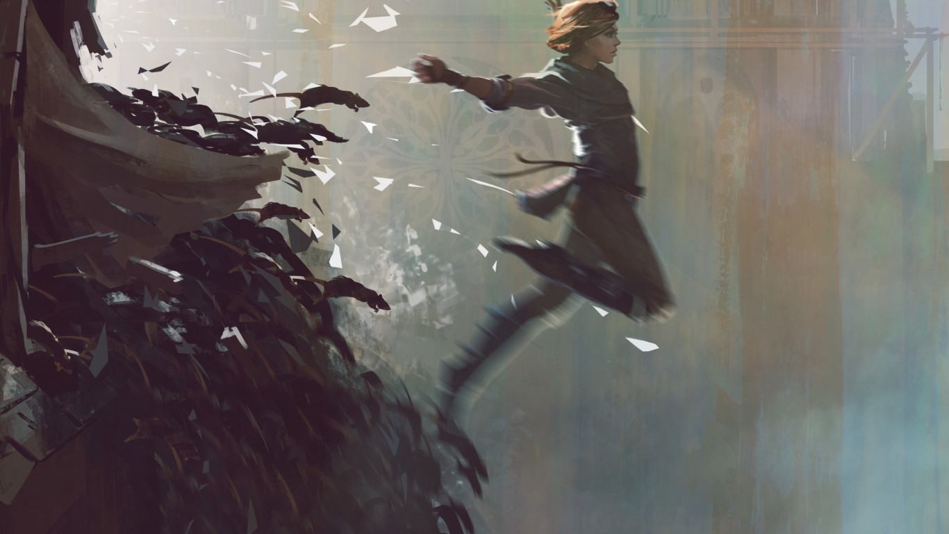 A Plague Tale: Innocence poster wallpaper 1366x768