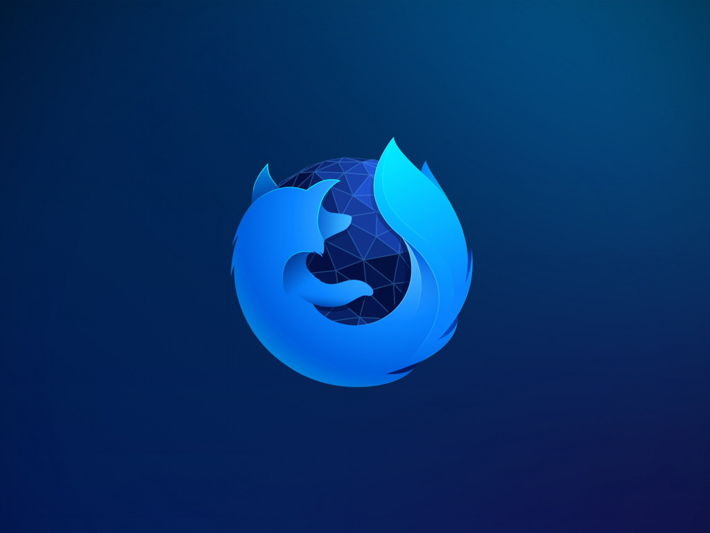 Firefox wallpaper 1024x768