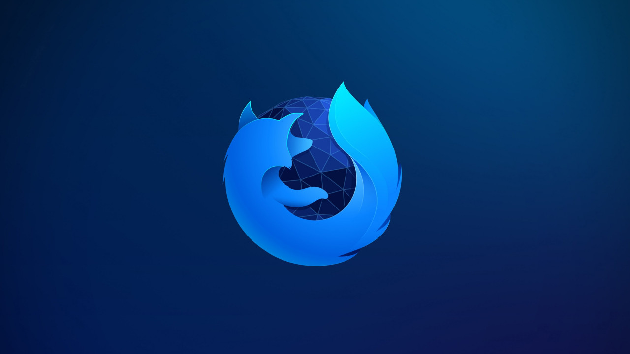 Firefox wallpaper 1280x720