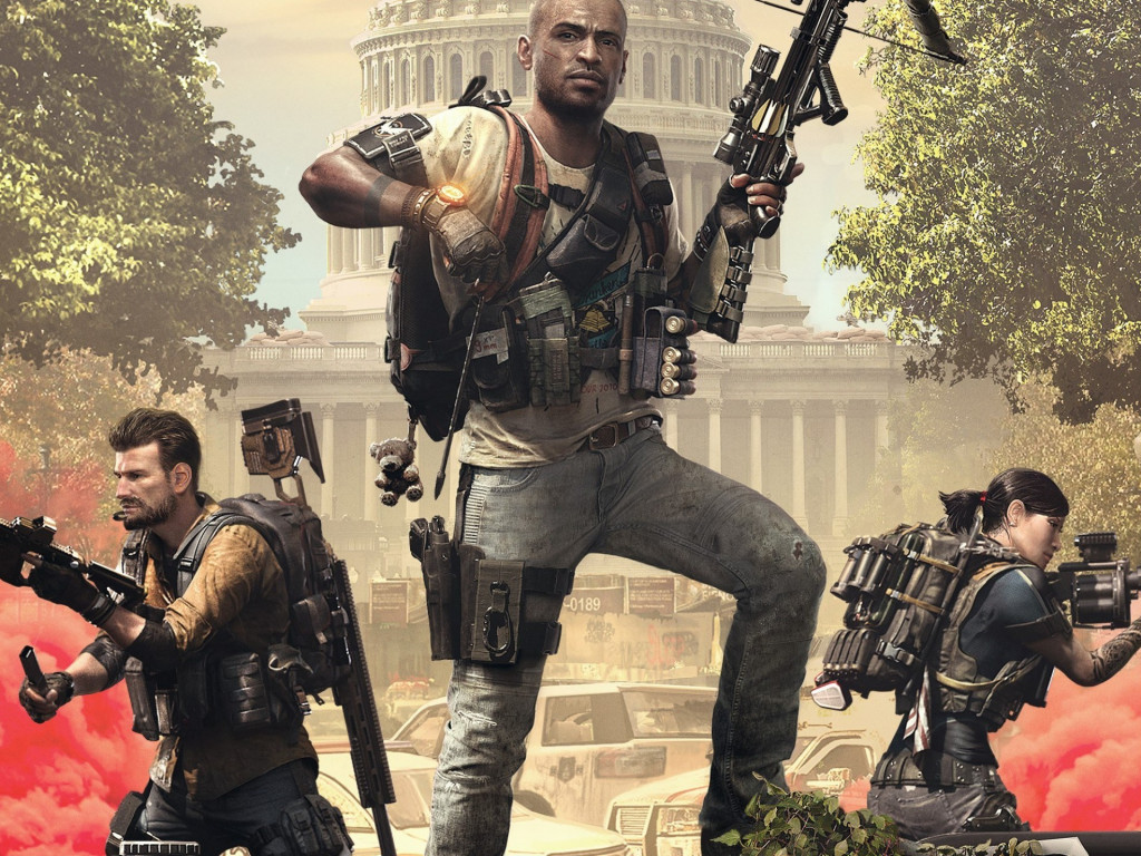 Tom Clancy's The Division 2 Episodes 2019 wallpaper 1024x768