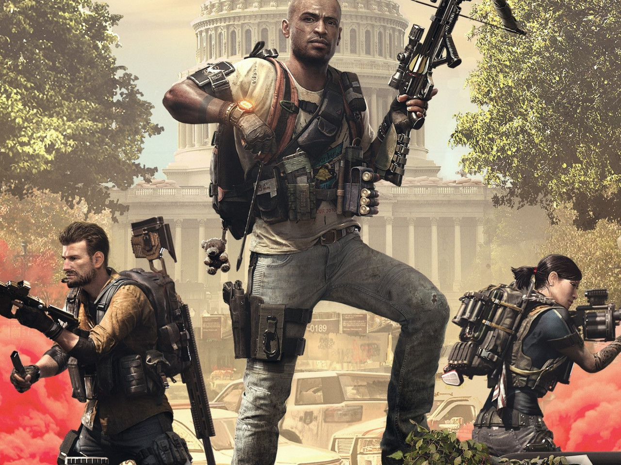 Tom Clancy's The Division 2 Episodes 2019 wallpaper 1280x960