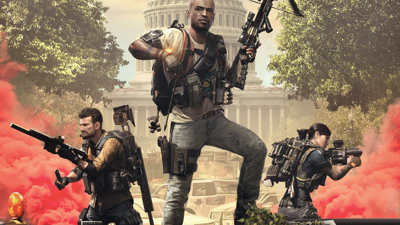 Tom Clancy's The Division 2 Episodes 2019 wallpaper 1366x768