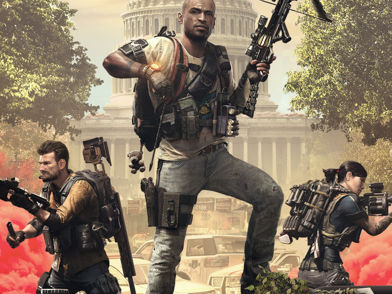 Tom Clancy's The Division 2 Episodes 2019 wallpaper 1600x1200