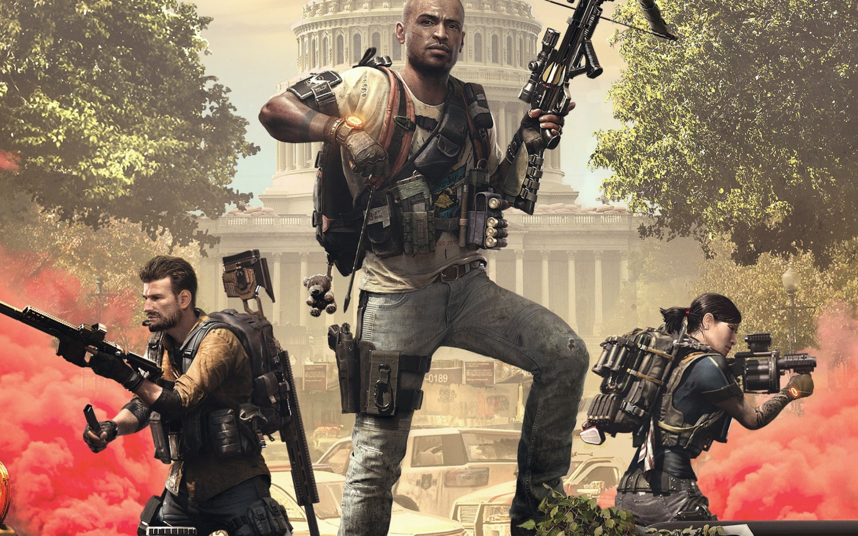 Tom Clancy's The Division 2 Episodes 2019 wallpaper 1680x1050