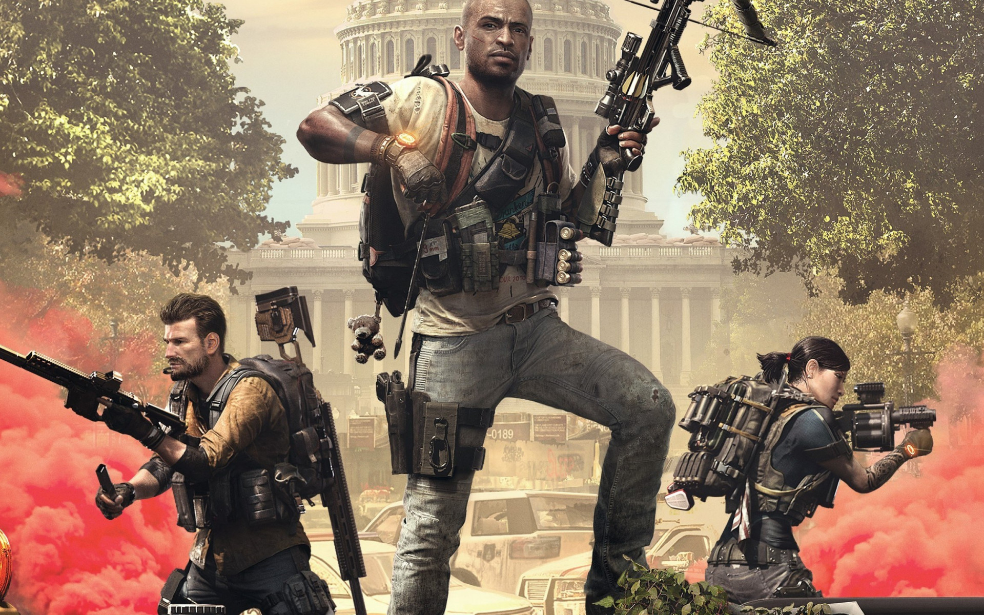 Tom Clancy's The Division 2 Episodes 2019 wallpaper 1920x1200