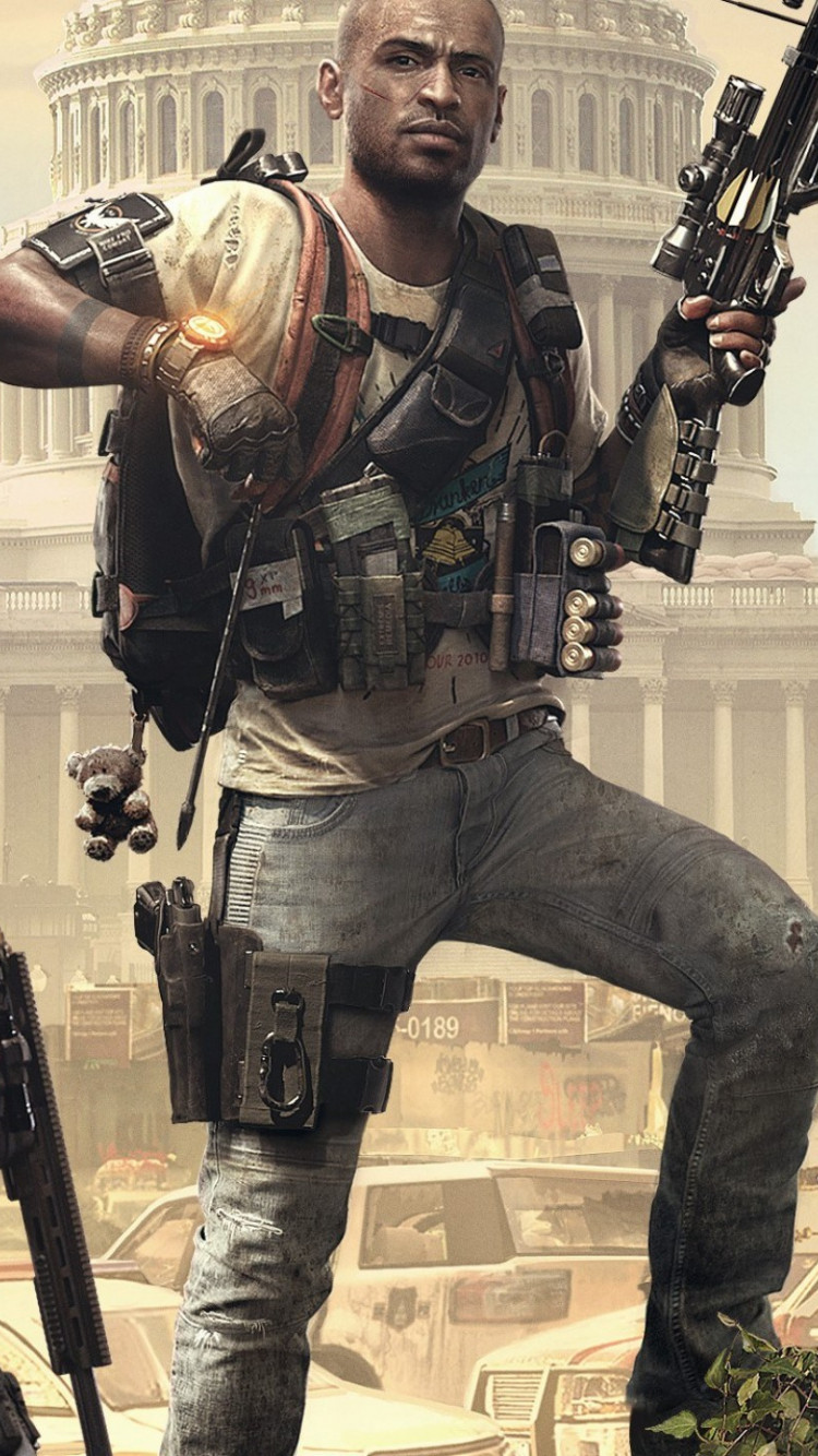 Tom Clancy's The Division 2 Episodes 2019 wallpaper 750x1334