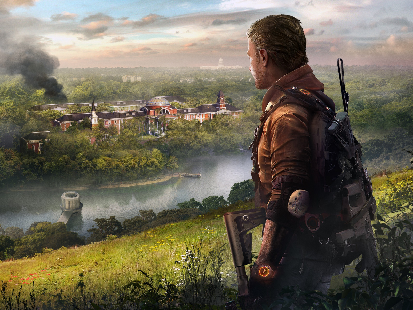 Tom Clancy's The Division 2 Episodes wallpaper 1600x1200