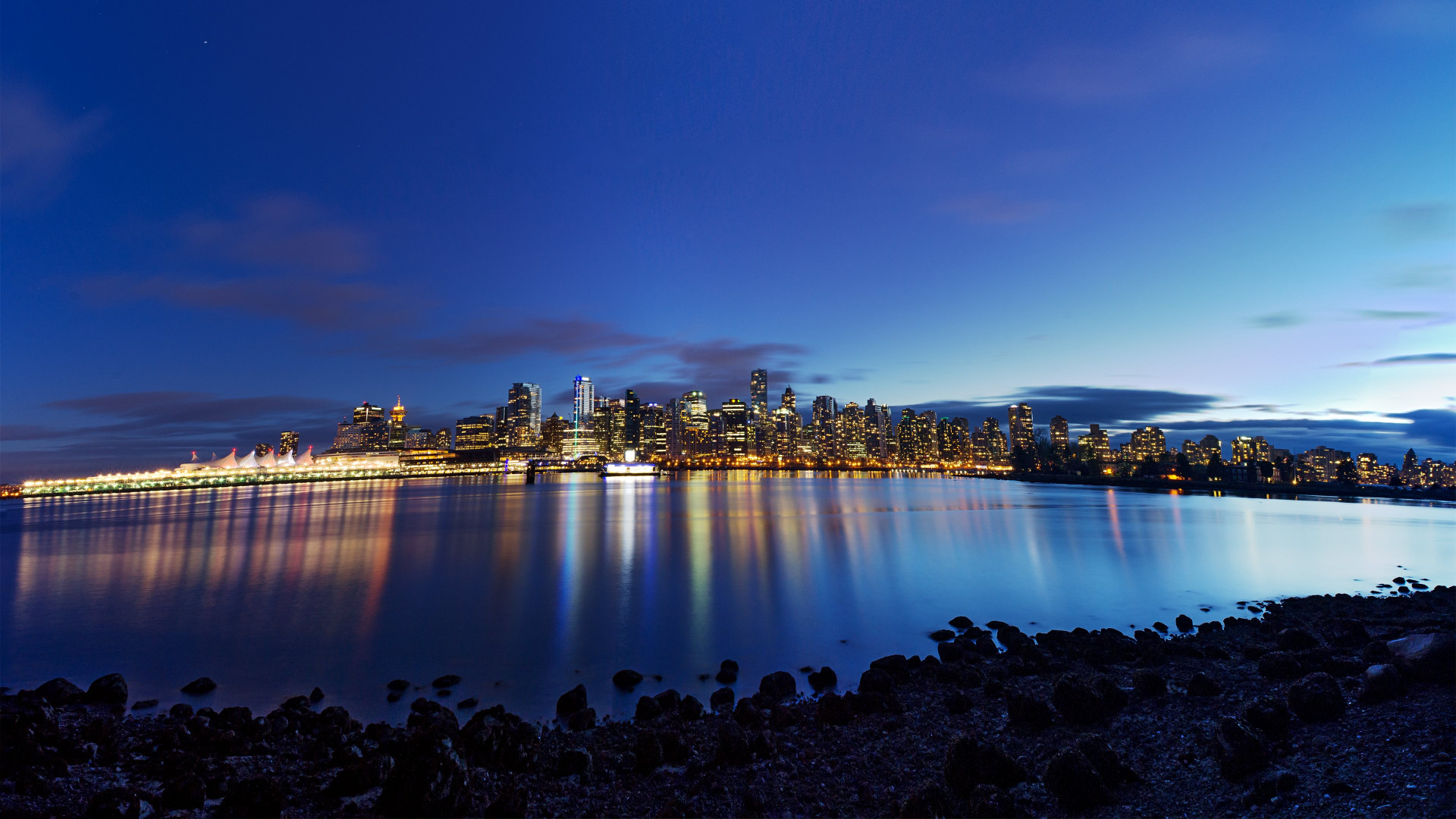 Vancouver city wallpaper 1920x1080