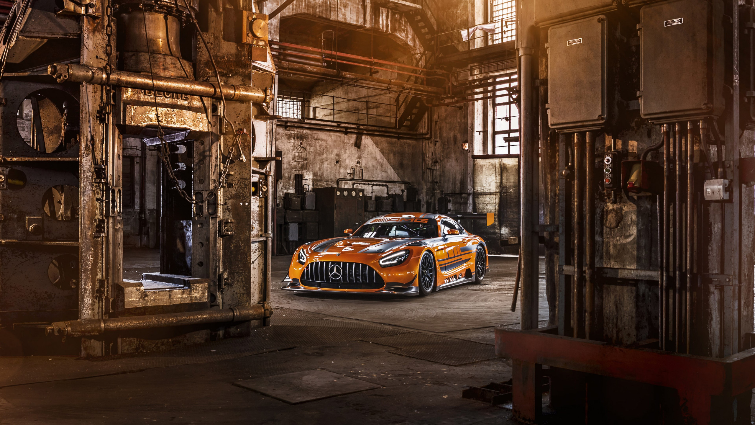Mercedes AMG GT3 wallpaper 2560x1440