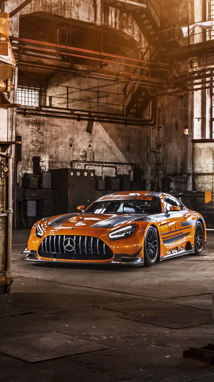 Mercedes AMG GT3 wallpaper 750x1334