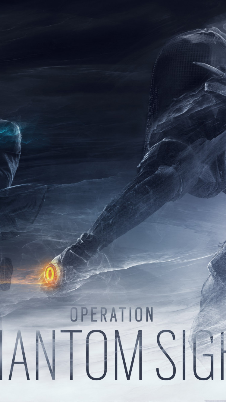 Rainbow Six Siege Operation Phantom Sight wallpaper 750x1334