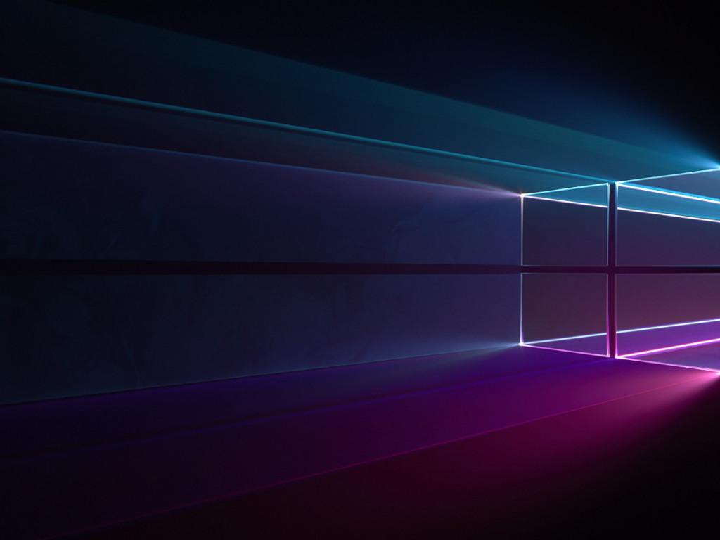 Download wallpaper: Windows 10 Hero 1024x768