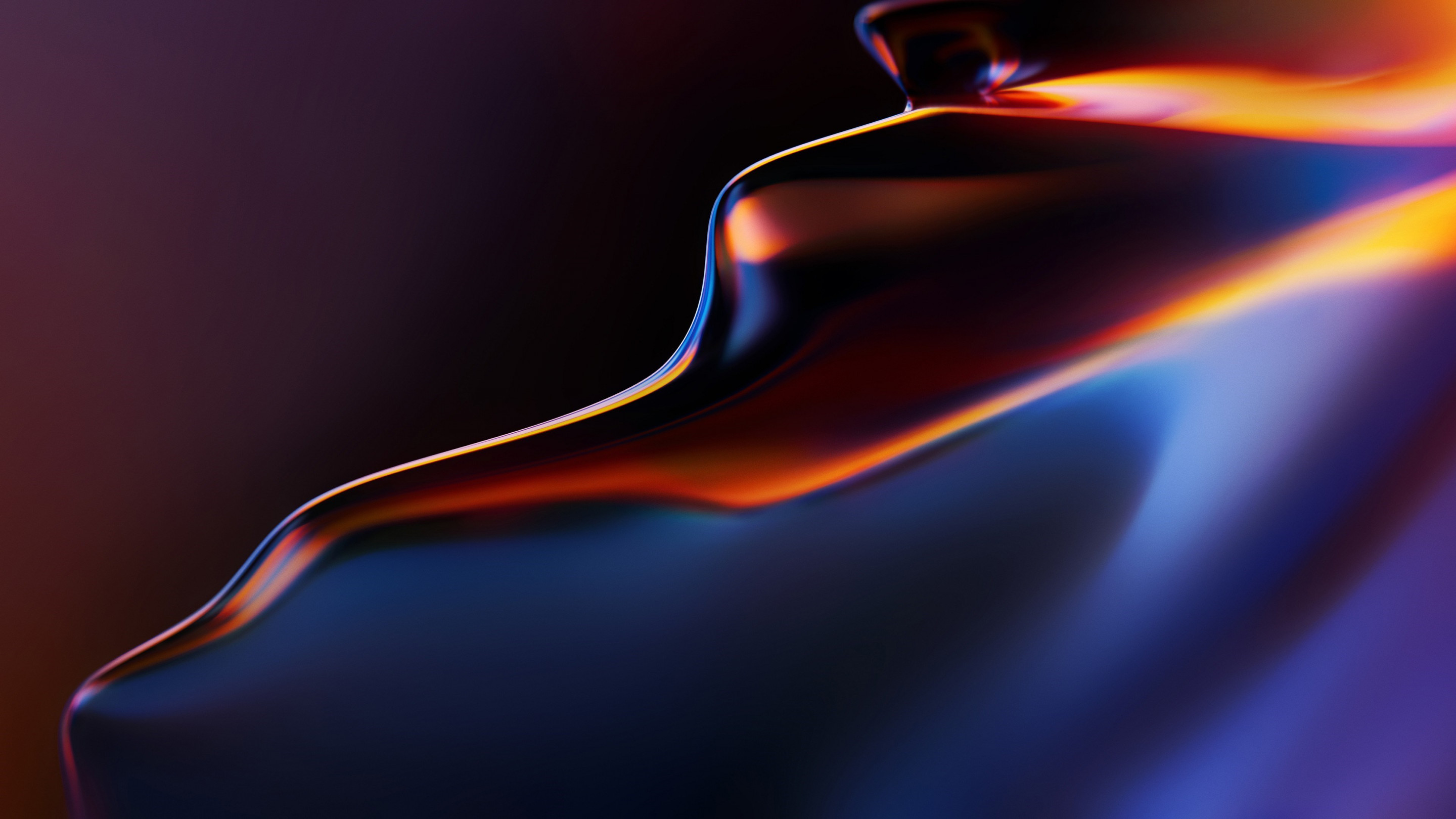Abstract, flow, OnePlus 6T wallpaper 2880x1620