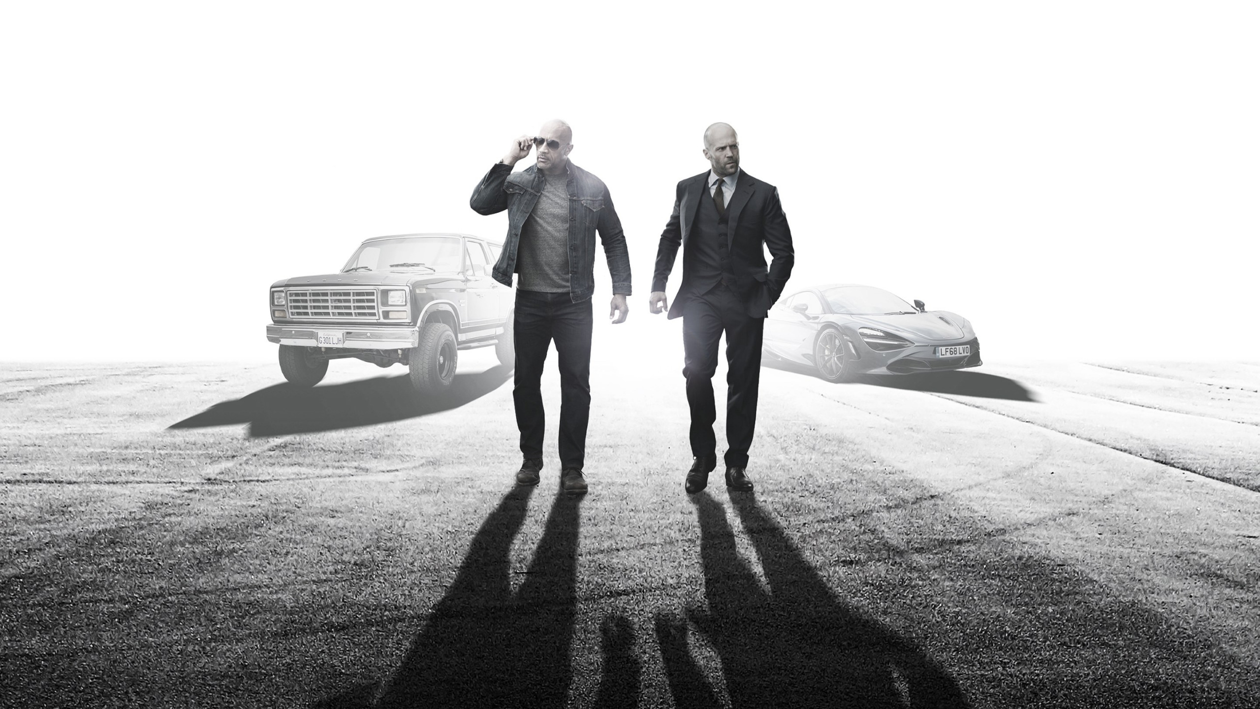 Fast and Furious Presents: Hobbs and Shaw wallpaper 2560x1440
