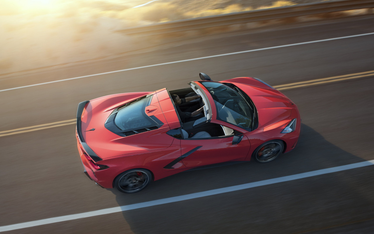 Chevrolet Corvette Stingray Z51 wallpaper 1280x800