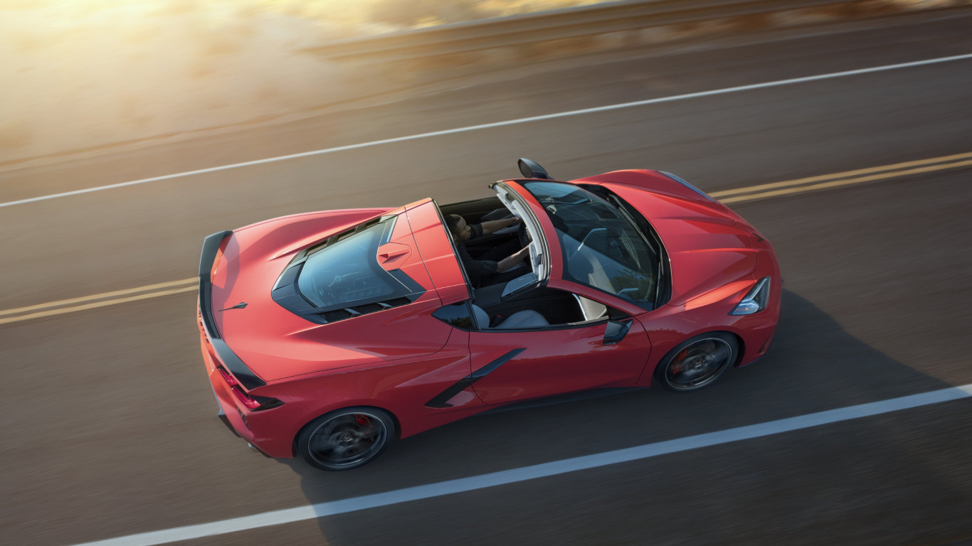 Chevrolet Corvette Stingray Z51 wallpaper 1366x768