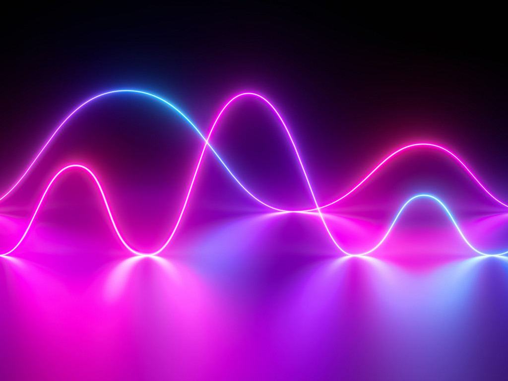 Oscilloscope from Huawei Mediapad M6 wallpaper 1024x768