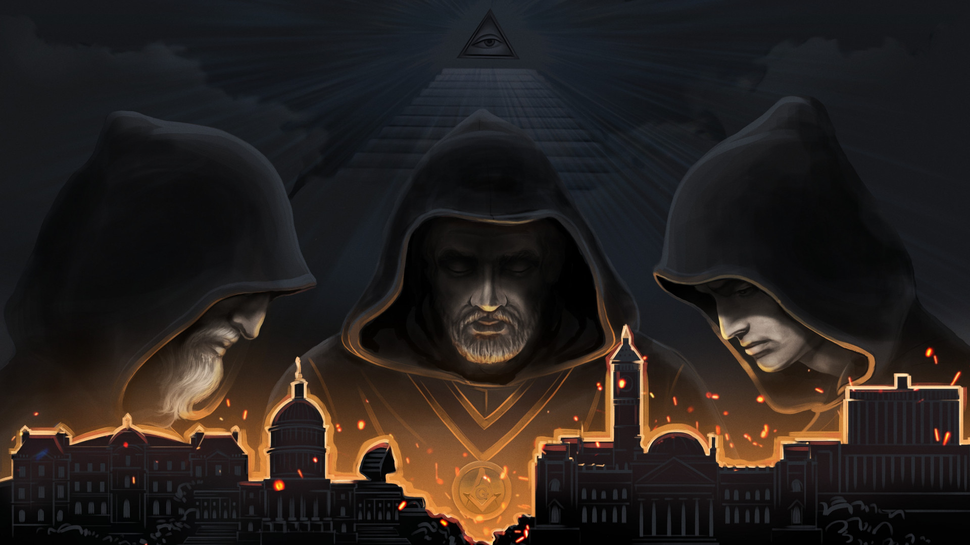 Secret Government wallpaper 1920x1080