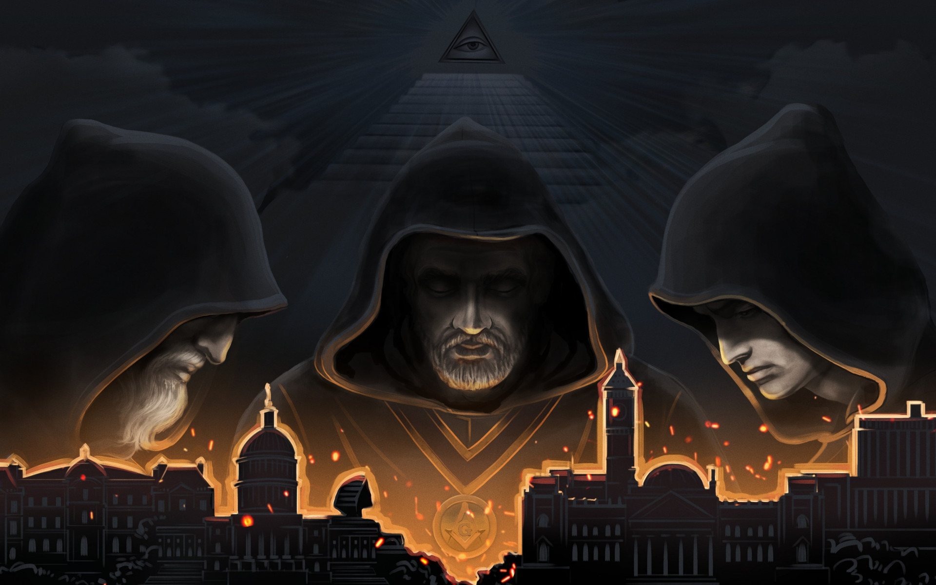 Secret Government wallpaper 1920x1200
