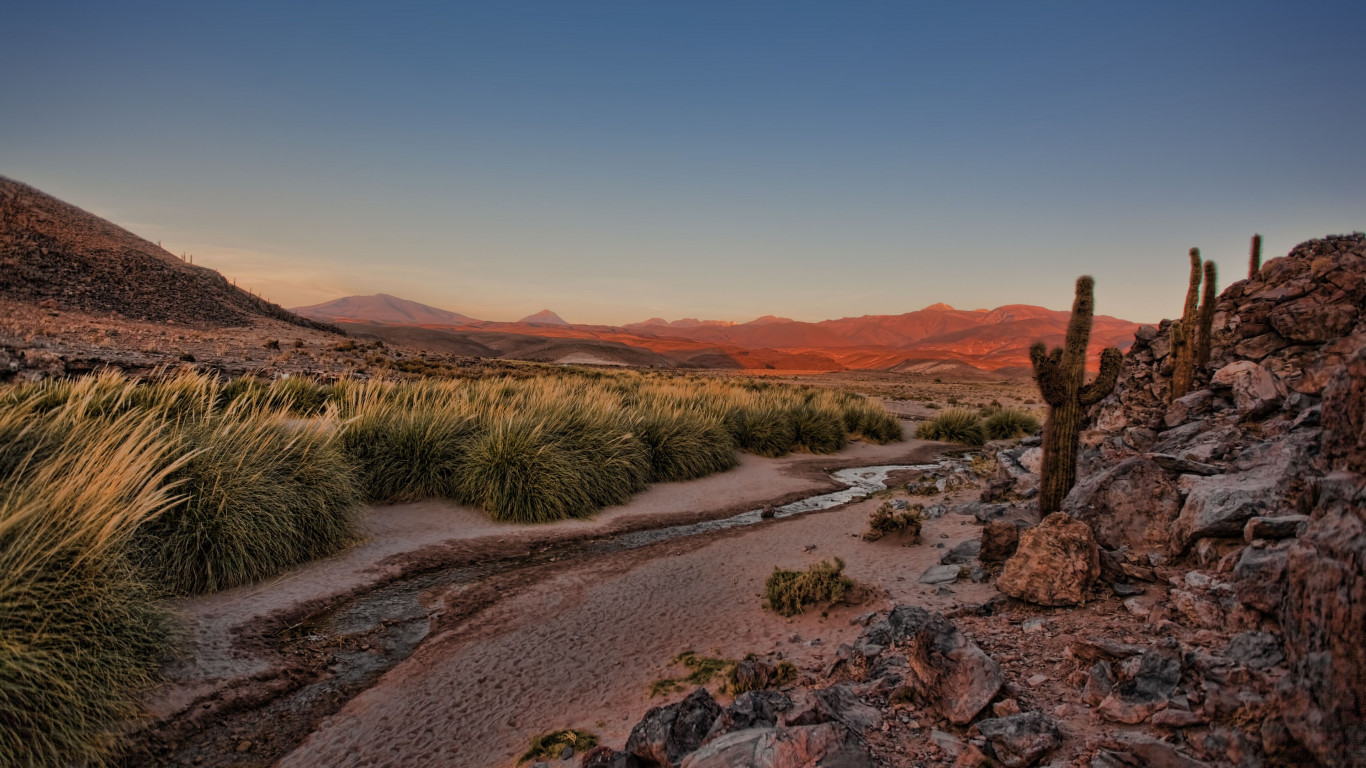 Atacama desert wallpaper 1366x768