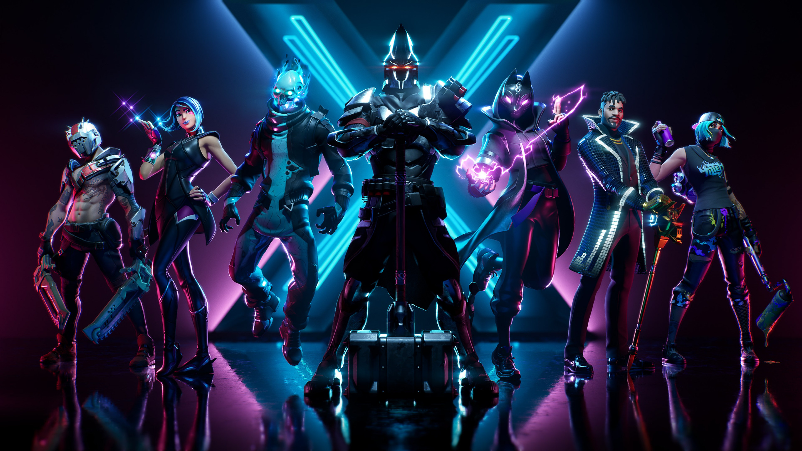 Download Wallpaper Fortnite Season X 2560x1440