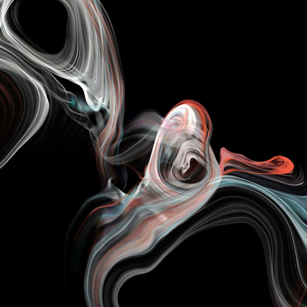 iMac smoke | 1024x1024 wallpaper