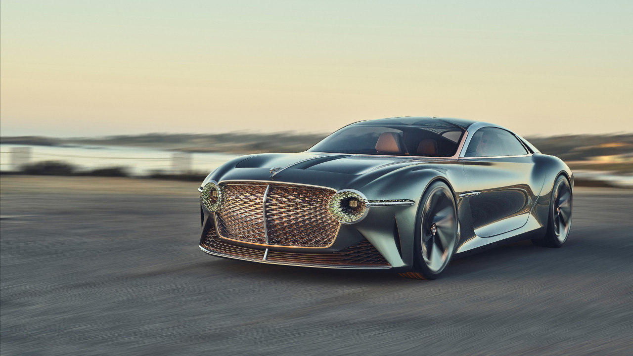 Bentley EXP 100 GT wallpaper 1280x720