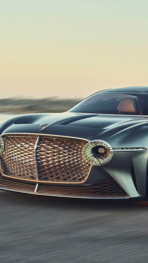 Bentley EXP 100 GT wallpaper 480x854