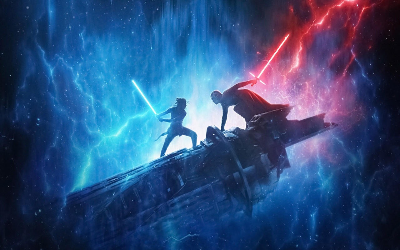 Download Wallpaper Star Wars The Rise Of Skywalker 1280x800