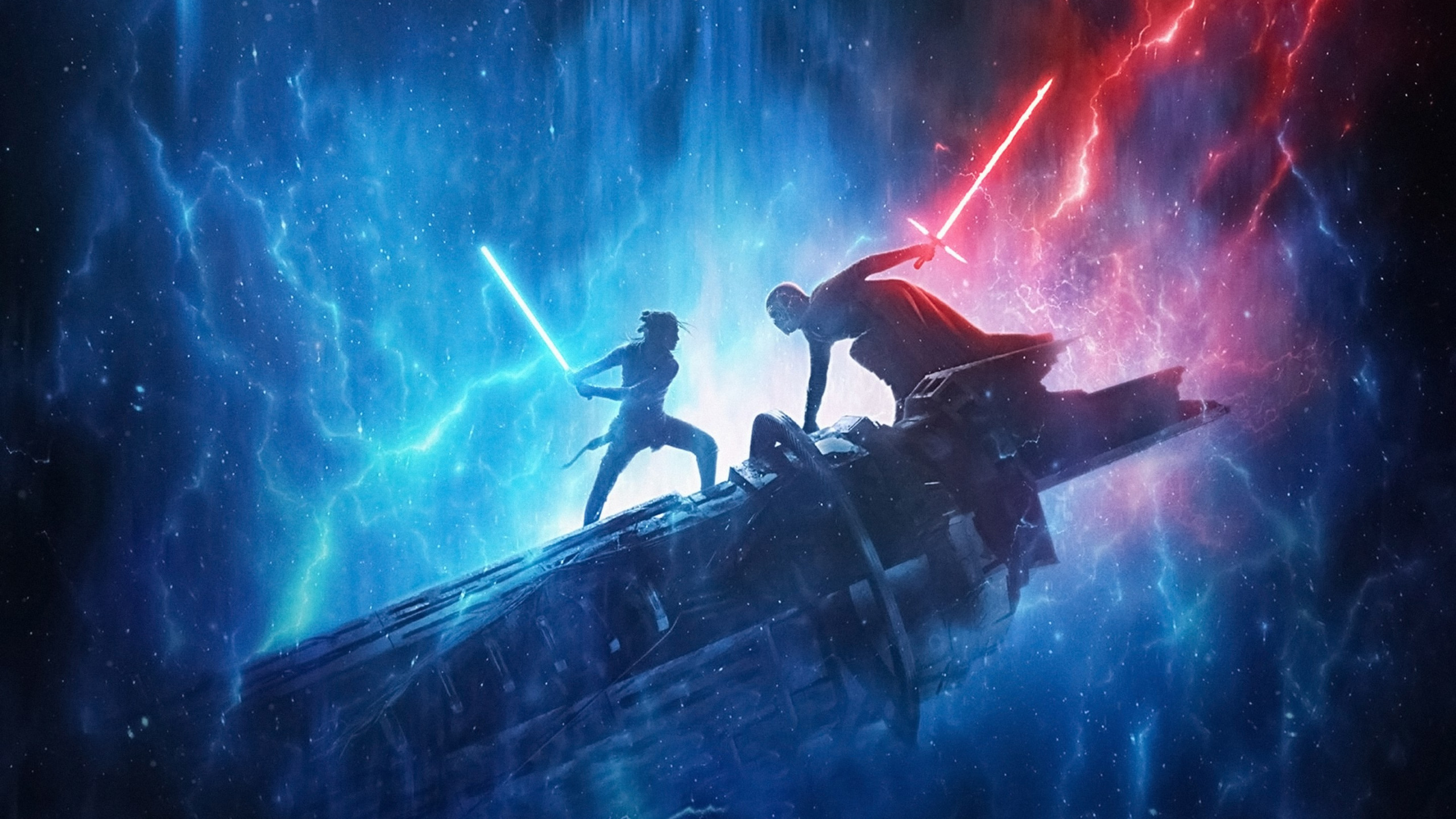 Download Wallpaper Star Wars The Rise Of Skywalker 2560x1440