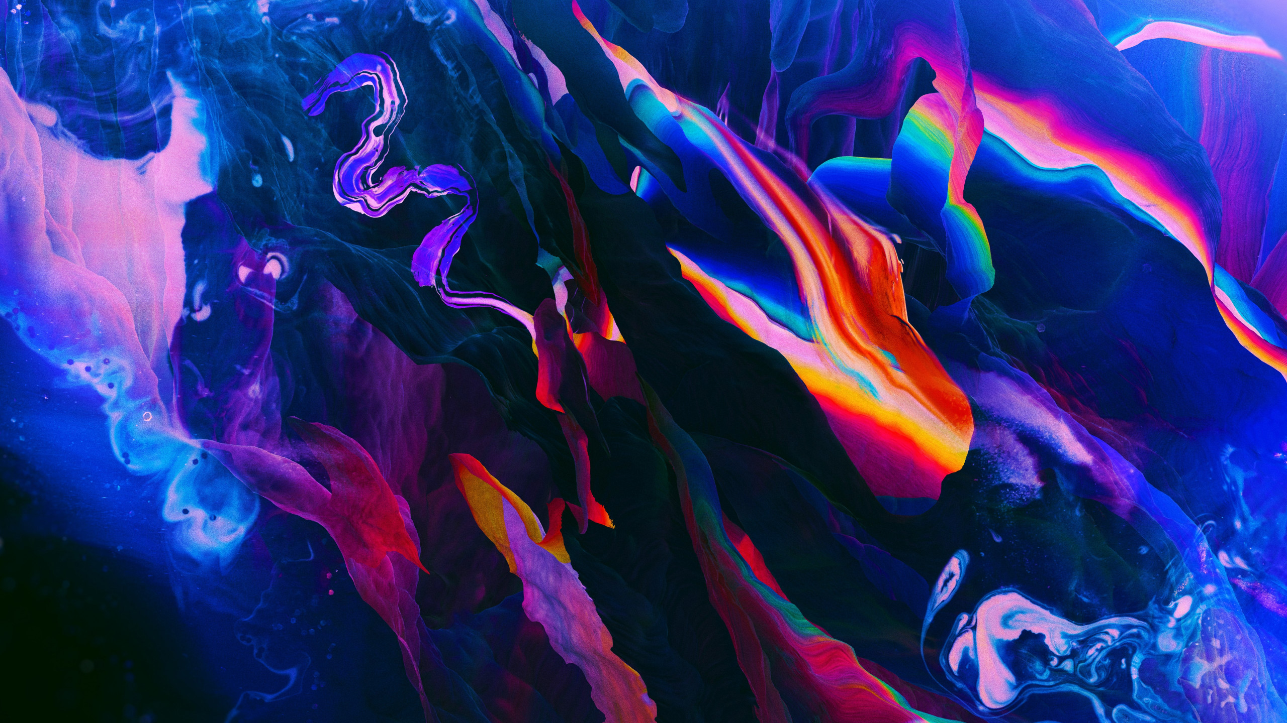 Download Wallpaper Abstract Colorful 2560x1440
